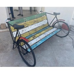 Wooden Cycle Bench