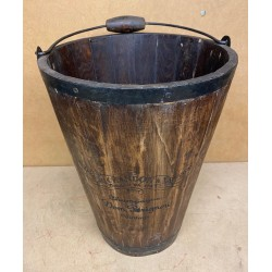Reclaimed Wooden Bucket -...