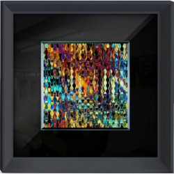 Abstract Framed Wall Art -...