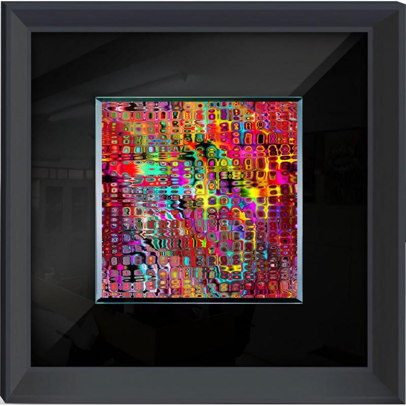 Abstract Framed Wall Art 60cm X 60cm