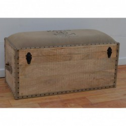 Wooden Blanket Box - Paris...