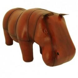 Handmade Leather Hippo...