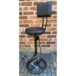 Bar Stool - Bicycle Pedals...