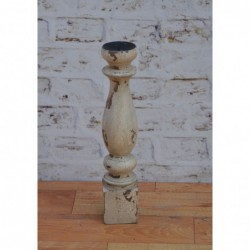 Wooden Candle Stand - 45cm