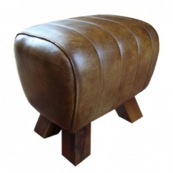 Genuine Leather Stool /...