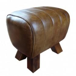 Genuine Leather Stool /...