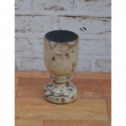 Wooden Candle Stand - 22cm