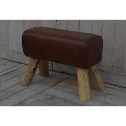 Leather Stool Pommel Horse...