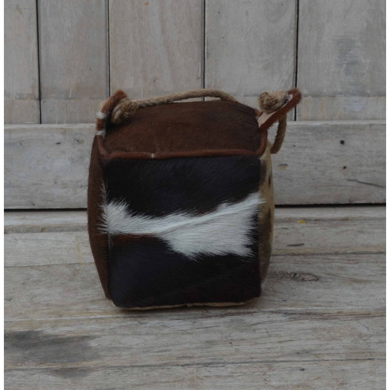 Cowhide Leather doorstop
