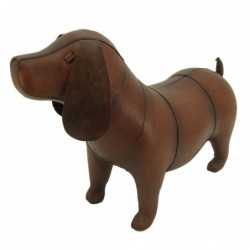 Handmade Small Leather Dog...
