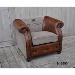 Vintage Style Armchair -...