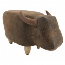 Faux Leather / Suede Bull...