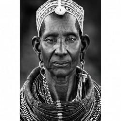 African Tribeswoman 120cm x...