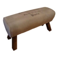Canvas Bench Seat - Pommel...