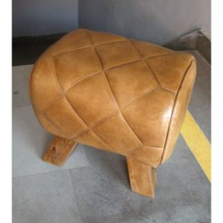 Quilted Leather Pommel Horse