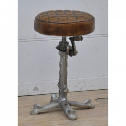 Industrial Style Iron Stool...