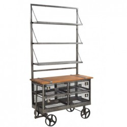 Industrial Display Rack