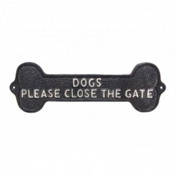 Cast Iron 'Dogs Please...