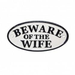 Cast Iron 'Beware of the...