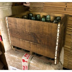 Vintage Wooden Crate with...