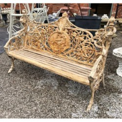Large Cast Iron Bench - 170kg