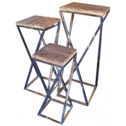 Nest of 3 Side Tables -...
