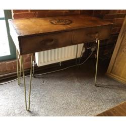 Leather 2 Drawer Desk /...